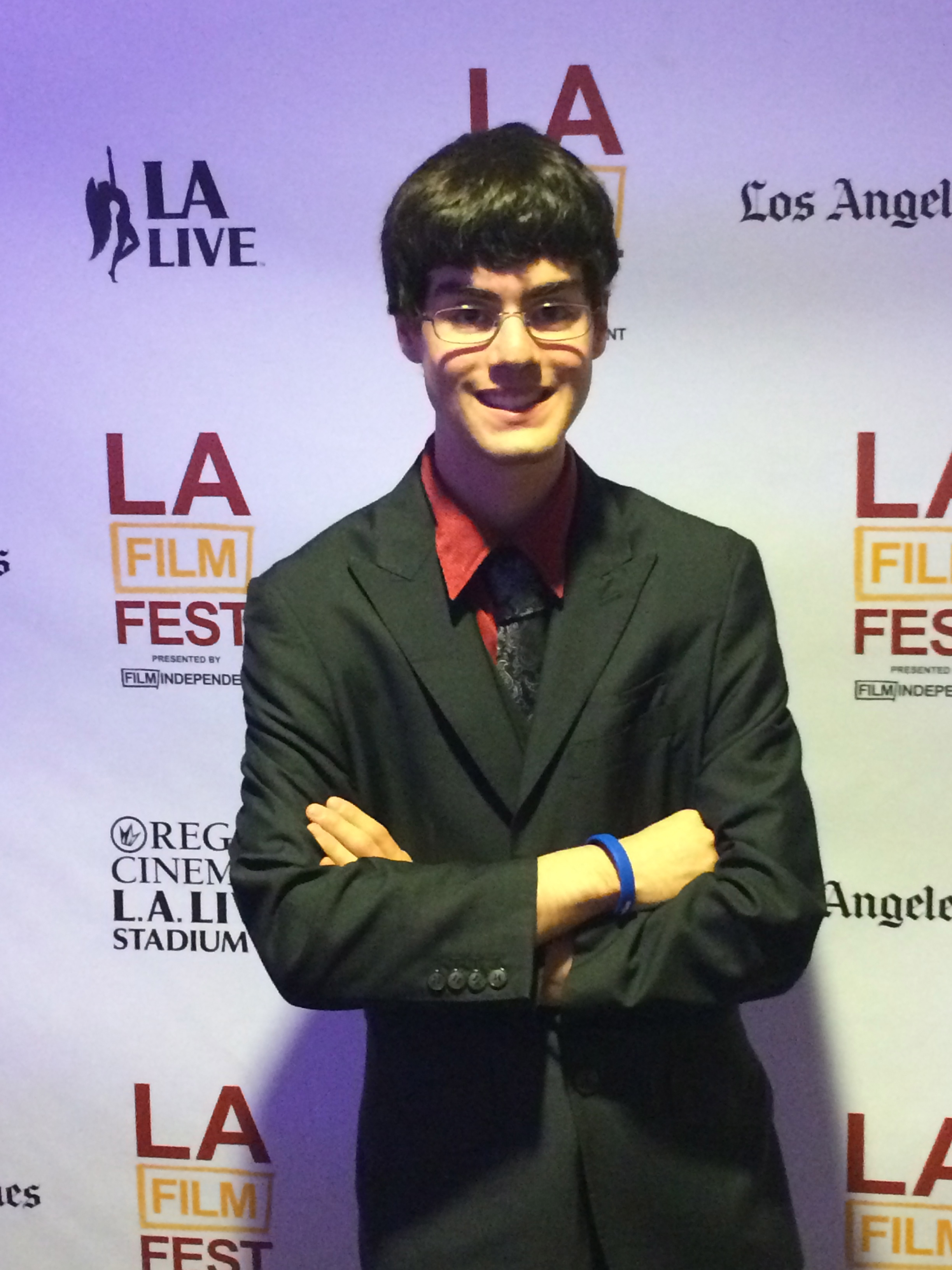 "Matt at LA Fim Premiere ""Sound of Redemption"""